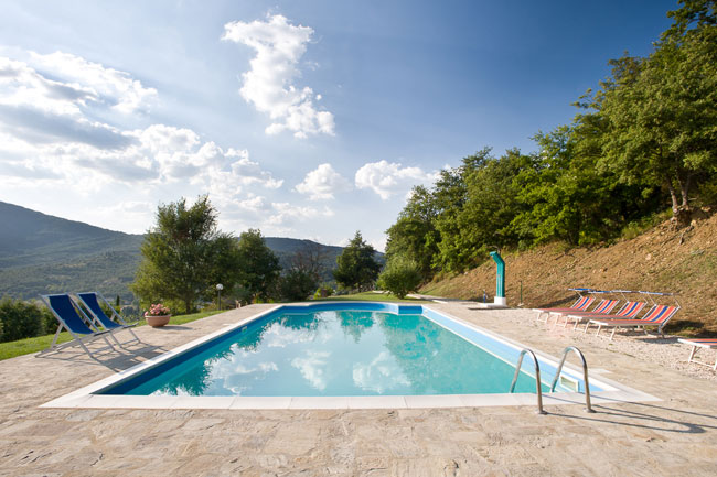 Agriturismo in Umbria - Piscina